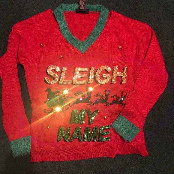 Macys Christmas Sweaters.Light Up Ugly Christmas Sweater
